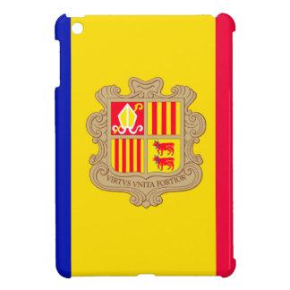 Andorra Flag Cover For The iPad Mini