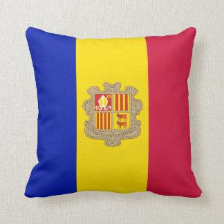 Andorra Flag Cushion