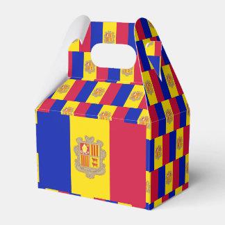 Andorra Flag Favour Box