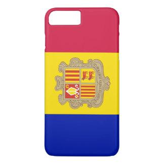 Andorra Flag iPhone 8 Plus/7 Plus Case