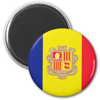 Andorra Flag Magnet