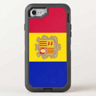 Andorra Flag OtterBox Defender iPhone 8/7 Case