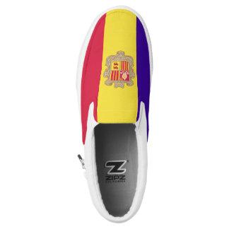 Andorra Flag Slip-On Shoes