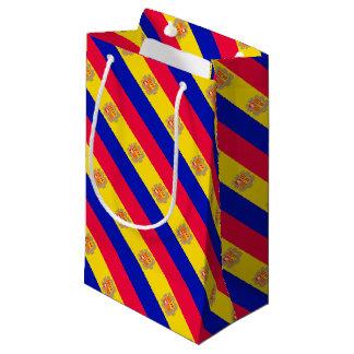Andorra Flag Small Gift Bag