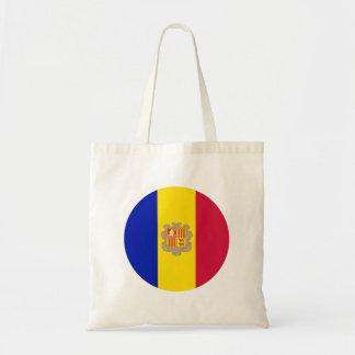 Andorra Flag Tote Bag