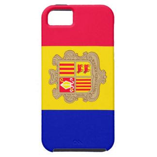 Andorra Flag Tough iPhone 5 Case