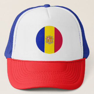 Andorra Flag Trucker Hat