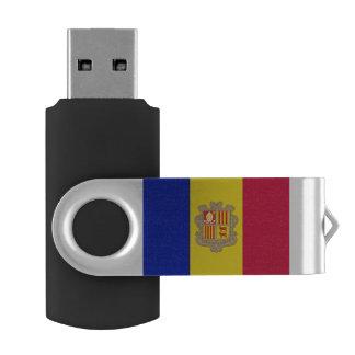 Andorra Flag USB Flash Drive