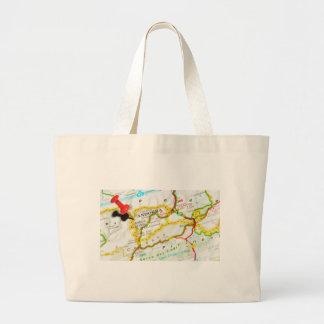 Andorra la Vella, Andorra Large Tote Bag