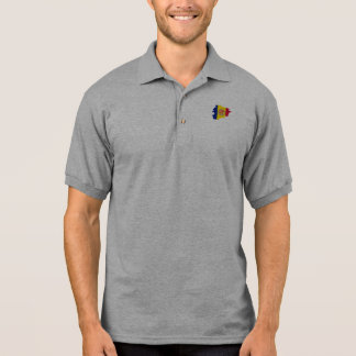 ANDORRA MAP POLO T-SHIRT