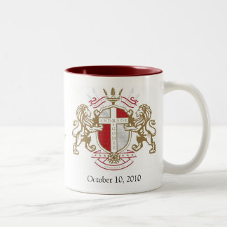 AndradeGomez, StAnthonyHotelLogo, October 10, 2... Two-Tone Coffee Mug