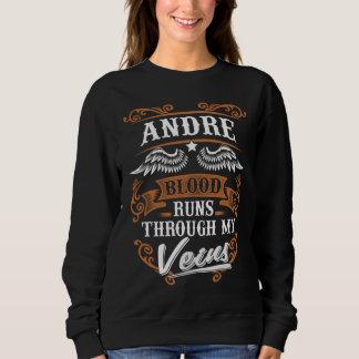 ANDRE Blood Runs Through My Veius Sweatshirt