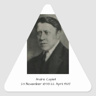 Andre Caplet Triangle Sticker