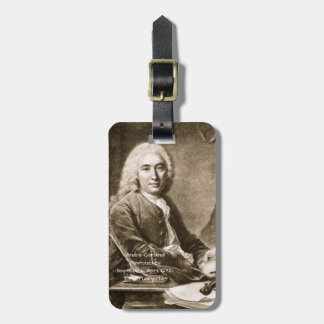 Andre Cardinal Destouches Luggage Tag