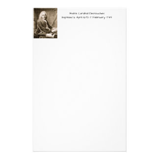 Andre Cardinal Destouches Stationery