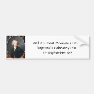 André Ernest Modeste Gretry Bumper Sticker