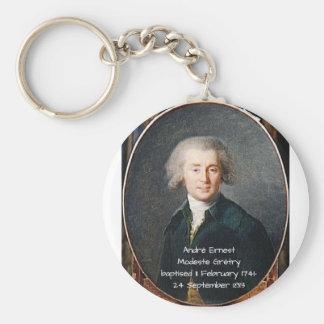 André Ernest Modeste Gretry Key Ring