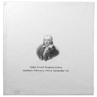 André Ernest Modeste Gretry Napkin