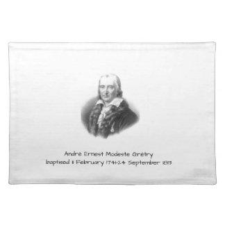 André Ernest Modeste Gretry Placemat