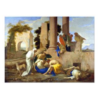 Andrea di Leone Tobit Burying the Dead Photo Print