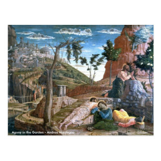 Andrea Mantegna Agony in the Garden Postcard