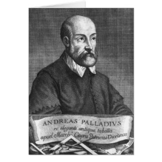 Andrea Palladio  engraved by Francesco Card