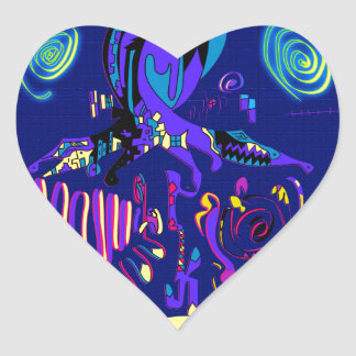 Andrei Heart Sticker