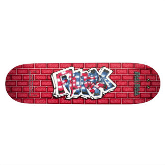 Andrew 02 ~ Custom Graffiti Art Pro Skateboard