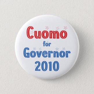 Andrew Cuomo for Governor 2010 Star Design 6 Cm Round Badge