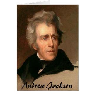 Andrew Jackson Card