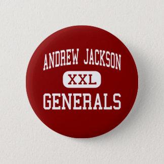 Andrew Jackson - Generals - Middle - Titusville 6 Cm Round Badge