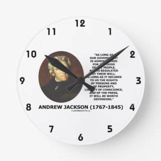 Andrew Jackson Government People Will Defending Clock