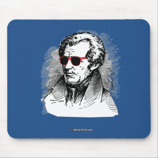 Andrew Jackson Party Glasses Mouse Pad