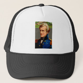 Andrew Jackson Vintage Trucker Hat