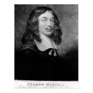 Andrew Marvell , engraved by John Raphael Smith Postcard