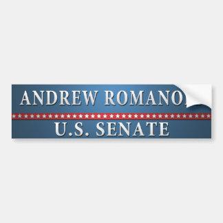 Andrew-Romanoff.bumper Bumper Sticker