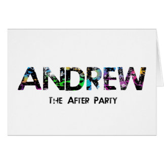 Andrew thank you card