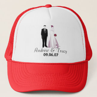 Andrew & Tracy Wedding Trucker Hat