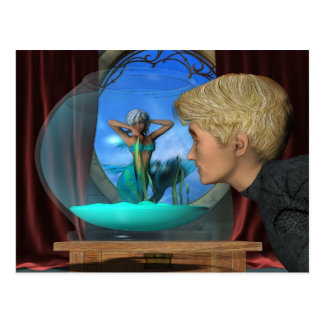 Andrews Aquarium Fantasy Art Postcard