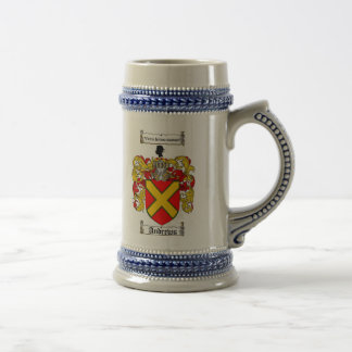Andrews Coat of Arms Stein / Andrews Family Crest Beer Steins