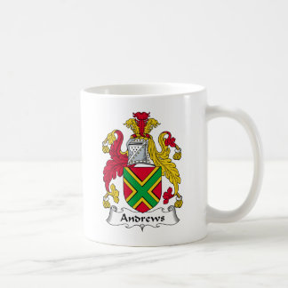 Andrews Family Crest Coffee Mug