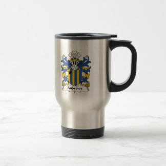 Andrews Family Crest Travel Mug