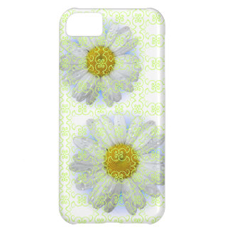 Andria Daisy with scroll  iphone case