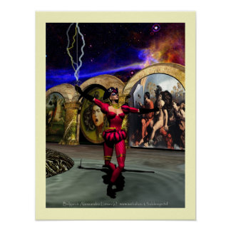 ANDROID BALLET , Science Fiction Poster