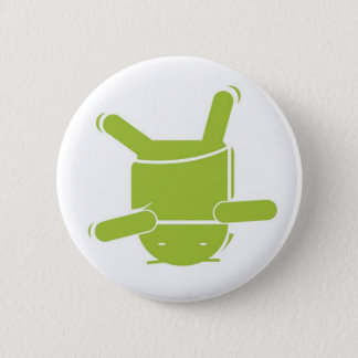 Android Dance 6 Cm Round Badge