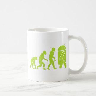 Android Evolution Basic White Mug