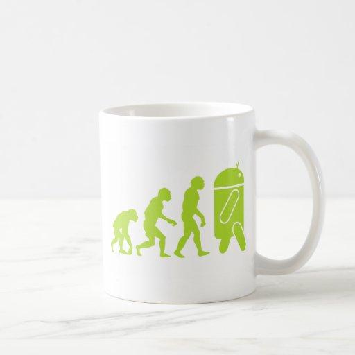 Android Evolution Mug