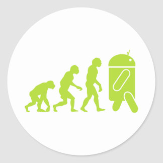 Android Evolution Stickers