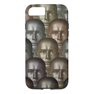Android Head iPhone 7 Tough Phone Case