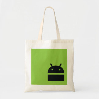 Android Market Shopping Bag - Android Geek Logo